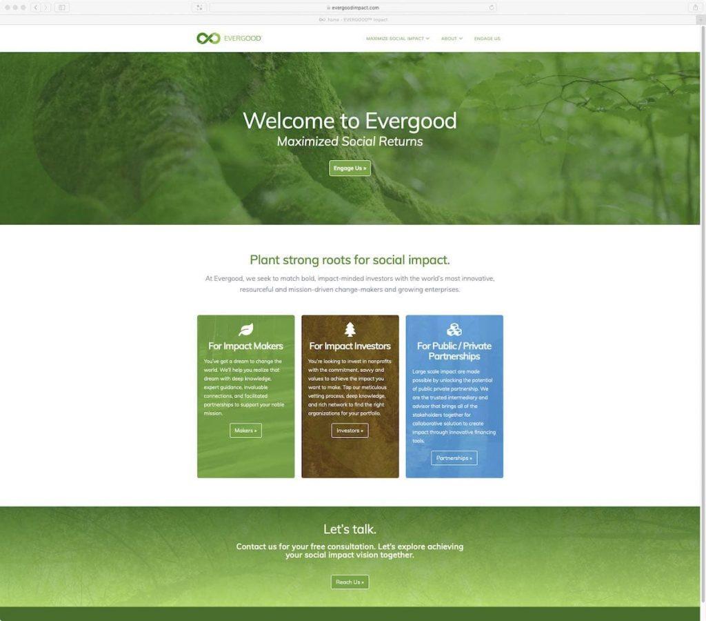 Evergood™ Website designed and built by BRANDVIVO™